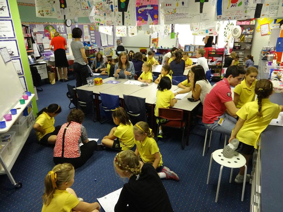 une classe australienne - photo Malgrange