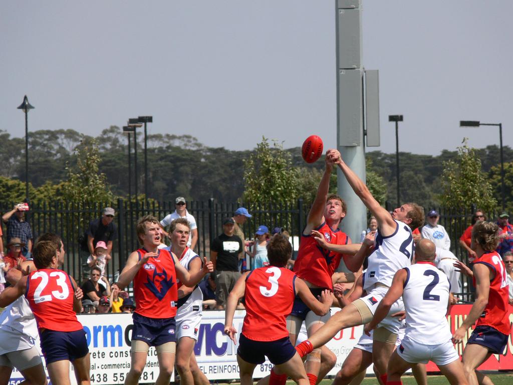 Match de footy à Melbourne