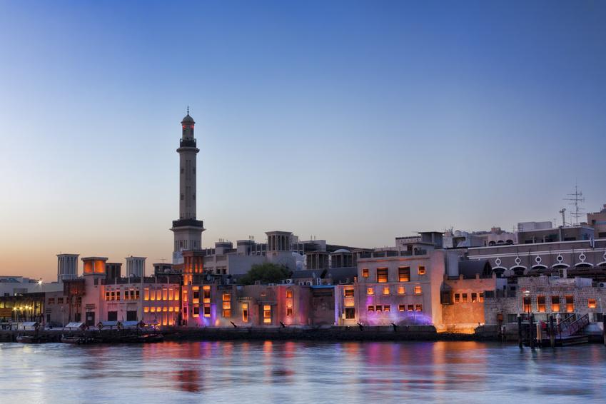 Les vieux quartiers de Dubai