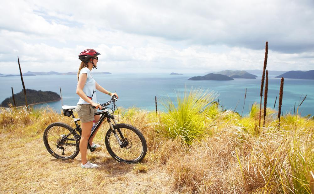 South Molle Island, idéale pour les randonnée en VTT