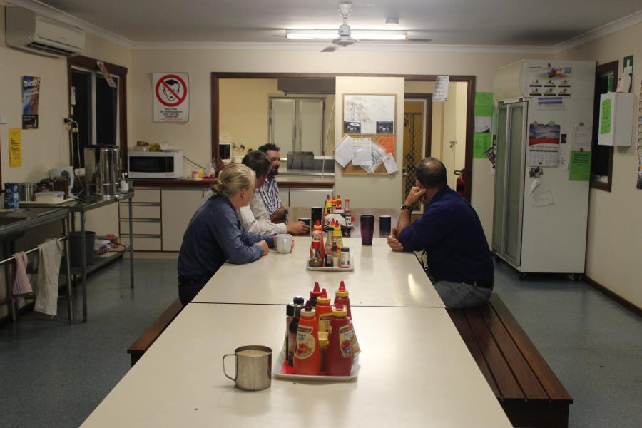 La salle à manger des stockmen