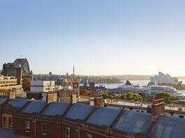 Vue depuis la terrasse de la YHA Sydney Harbour - Nouvelle Galles du Sud