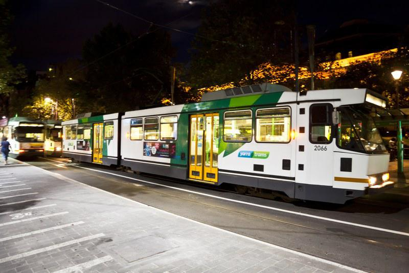 Les tramways de Swanson Street
