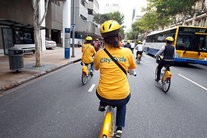 Les vélos du service City Circle