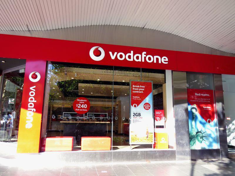 La téléphonie mobile : Vodaphone