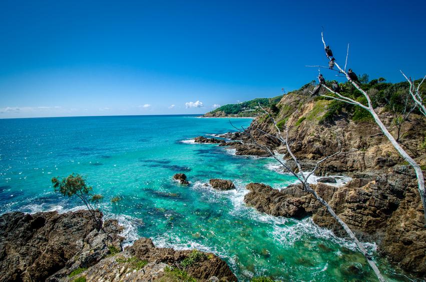La côte de Byron Bay - Australie