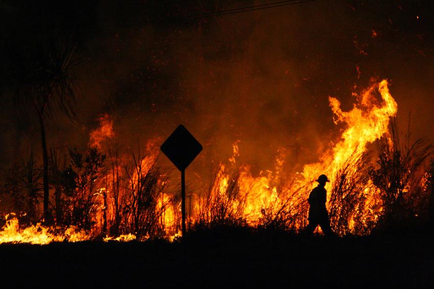 Bush Fire - Feu de brousse -Australie