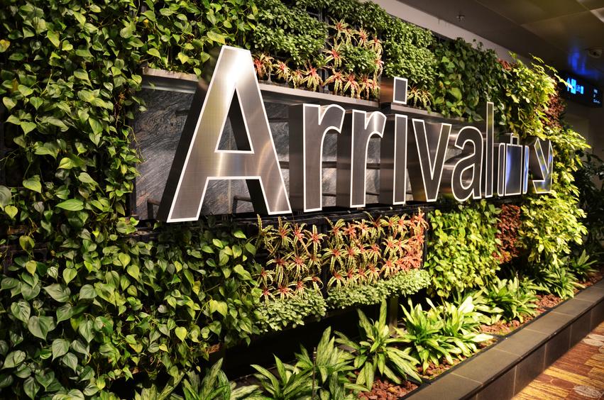 Aéroport Changi - Singapour