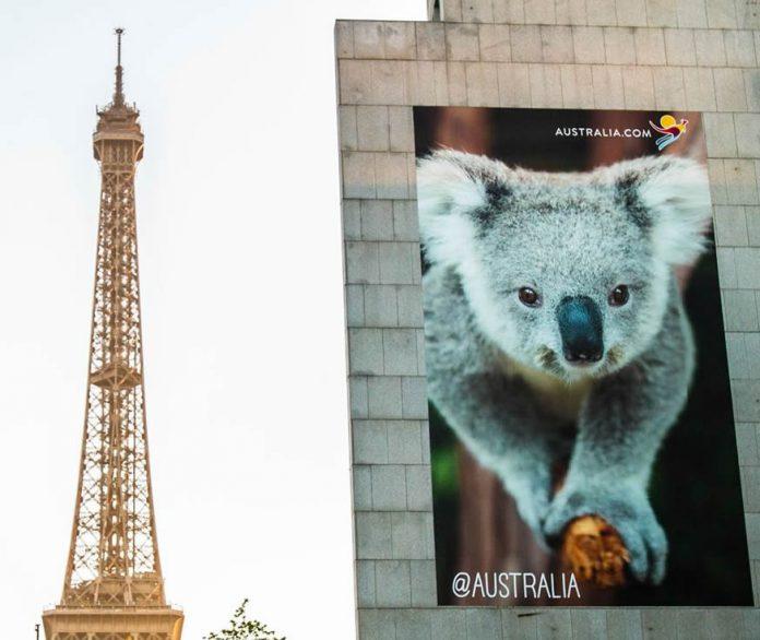 Ambassade d'Australie rue Jean Rey à Paris
