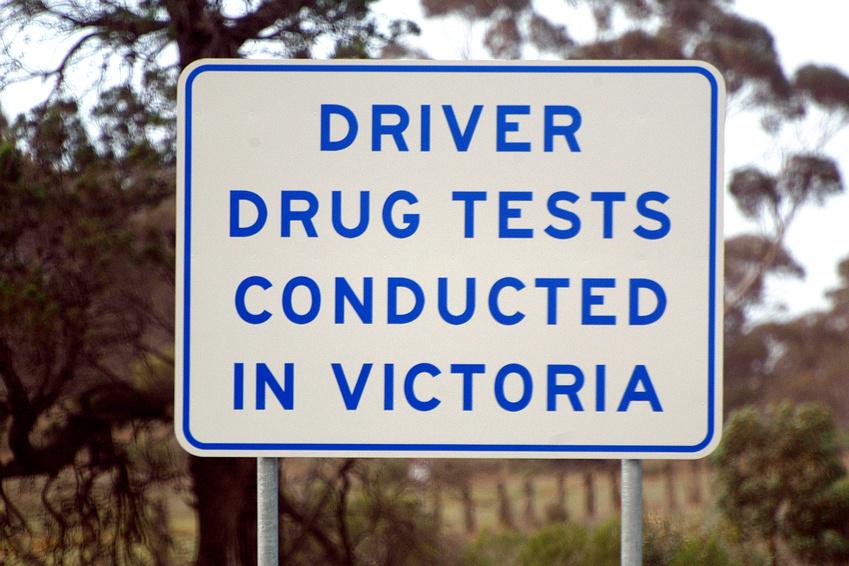Une cause d'amendes en Australie : la conduite sous drigue