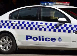 Voiture de police australie