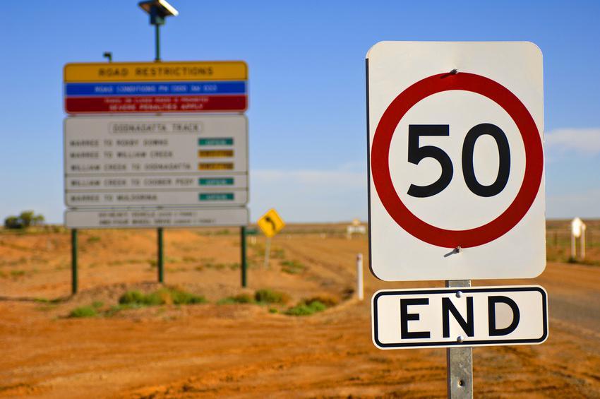 Amendes en Australie : La vitesse