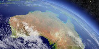 Australie vue de satellite