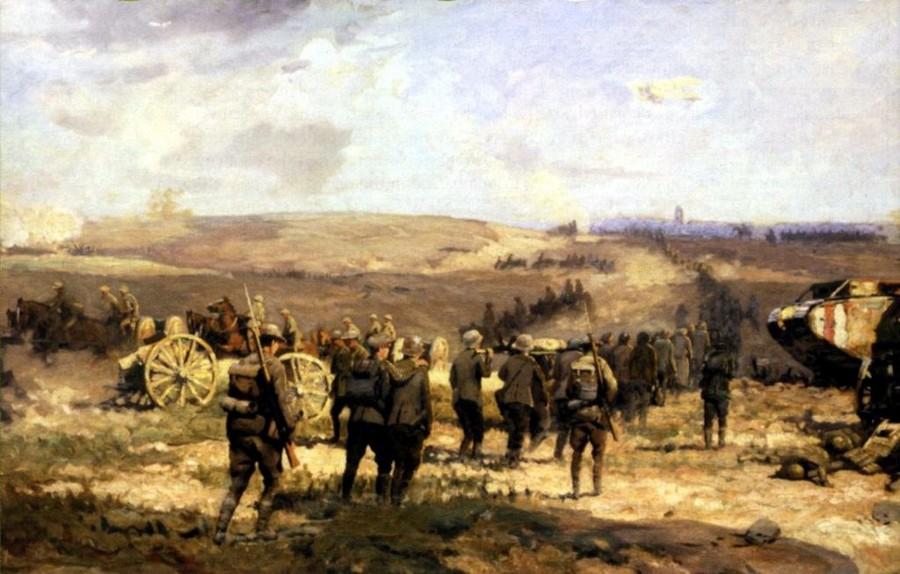 Histoire de l'Australie : bataille Amiens
