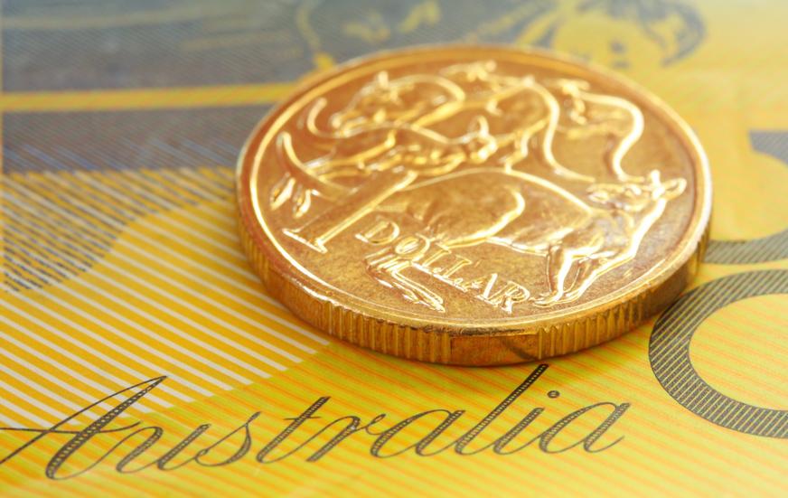 billet et piéce australien