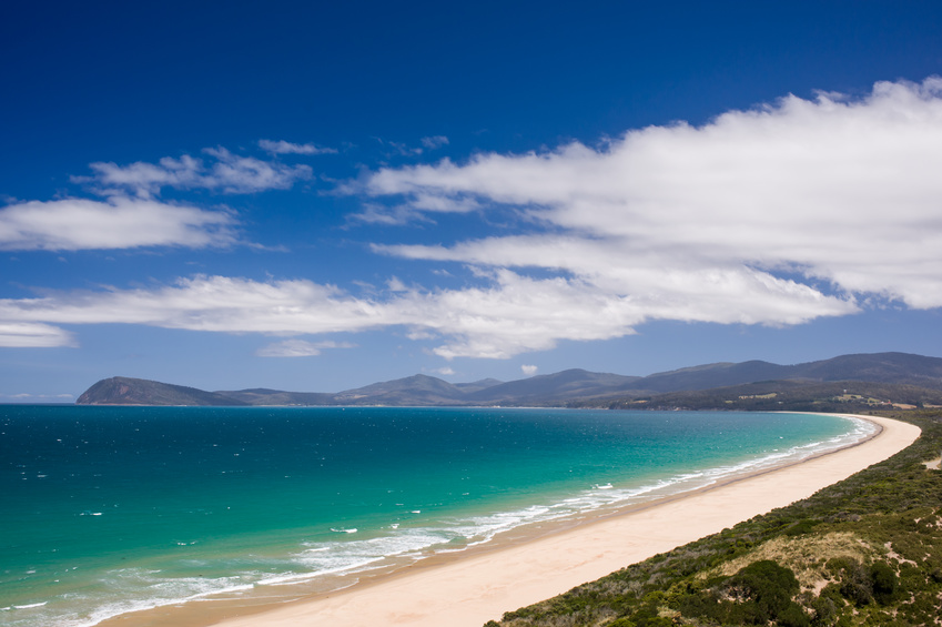 The Spit Lookout, Bruny Island, Tasmania, Australia
