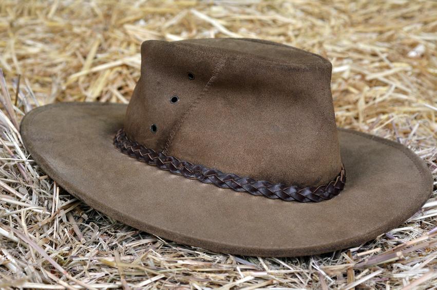 Le chapeau typique australien