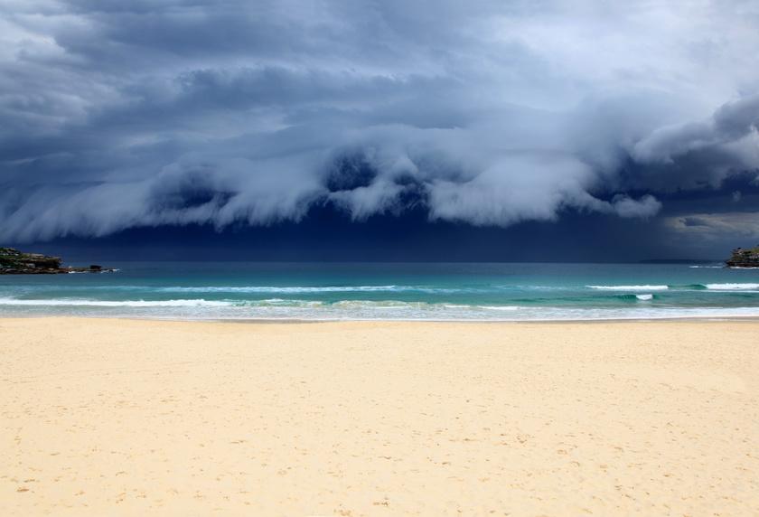 Le climat en Australie : Tempête