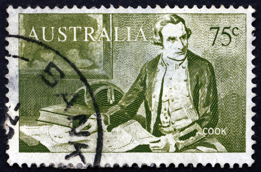 Histoire de l'Australie : Le grand explorateur James COOK