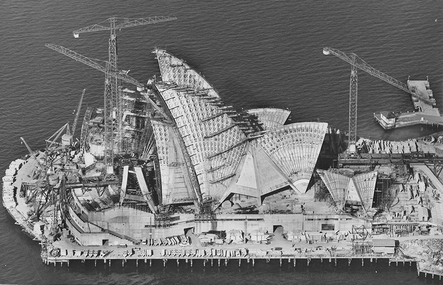 opera-de-sydney-construction - Photo