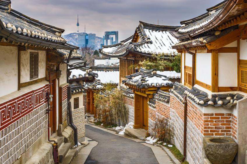 Quartier historique -Séoul