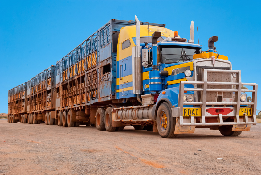 Road Train - Australian outback