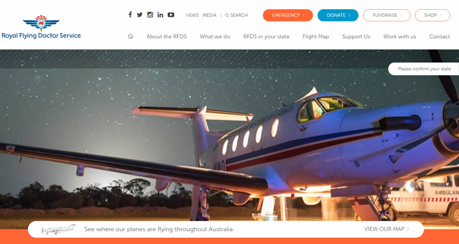 Site des Royal Flying Doctors