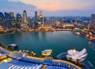 Skyline de Singapore