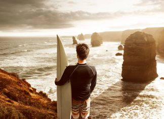 surf australie