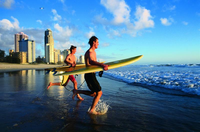 Carte Australie Surf.Le Surf Version Australienne