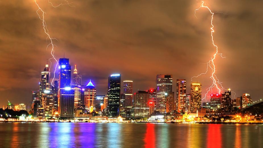 Orage sur Sydney