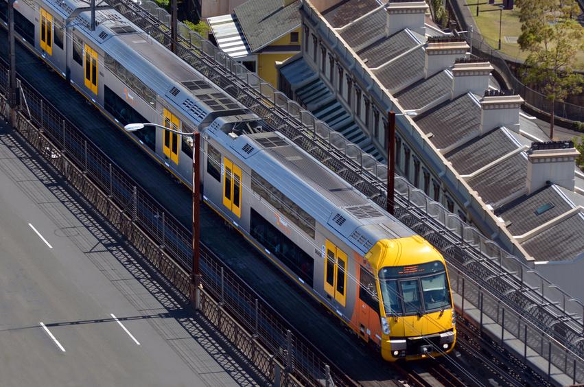 Le coût du voyage en Australie : train sydney