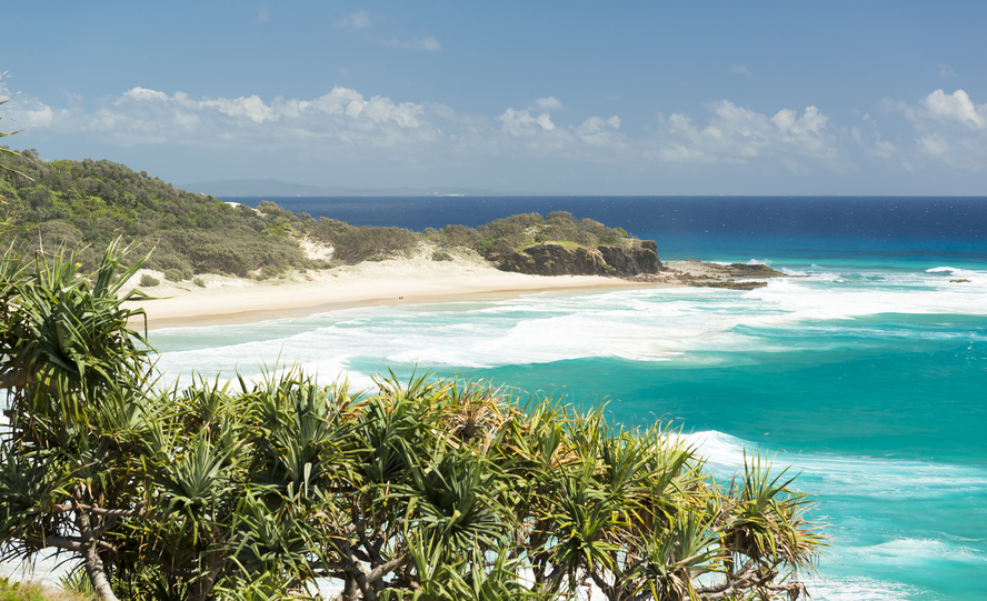 Frenchmans Beach - North Stradbroke Island