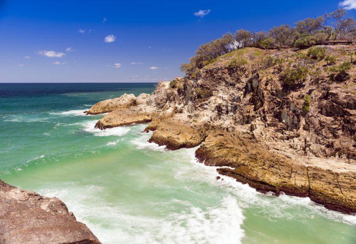 Stradbroke Island, Australie