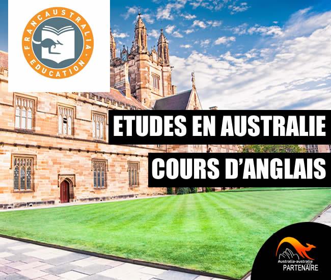 Etudes et cours d'anglais en Australie