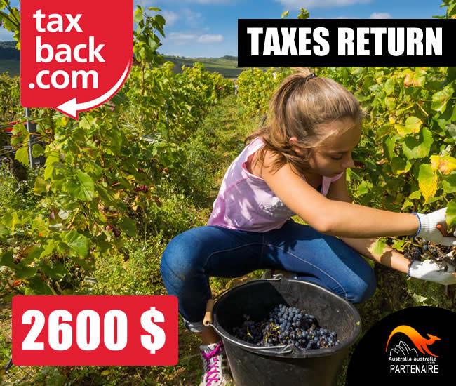 Taxback Australie