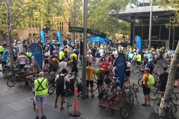 cyclistes Sydney