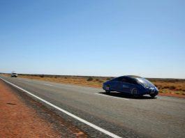 Voiture solaire Australie