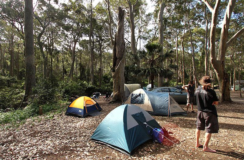 Camping Australie