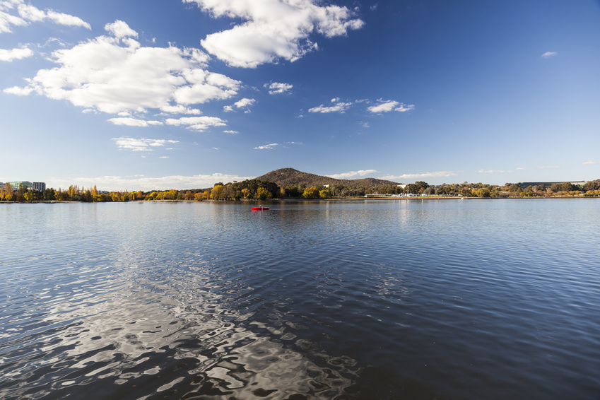 Burley Griffin Lake - Canberra