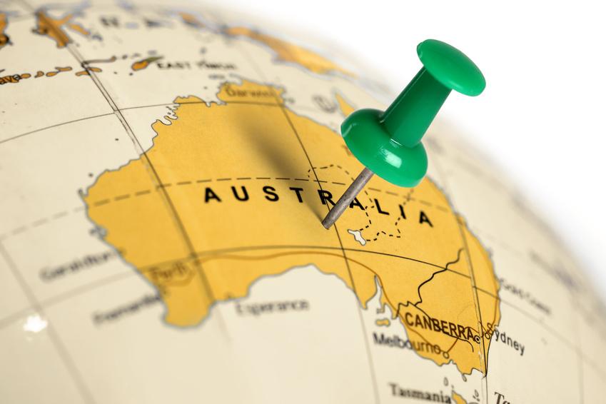 Météo Australie /Carte d'Australie
