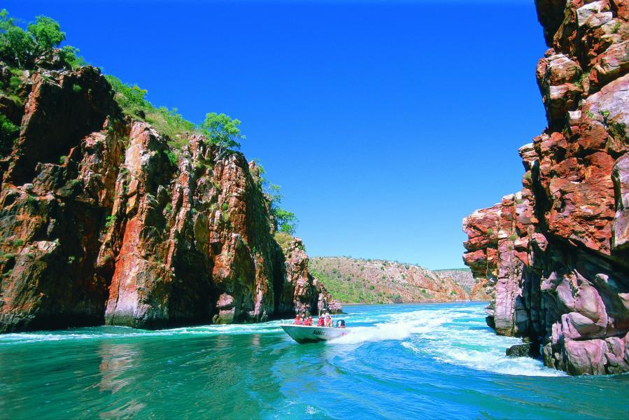 Horizontal Falls -Kimberley - Australie