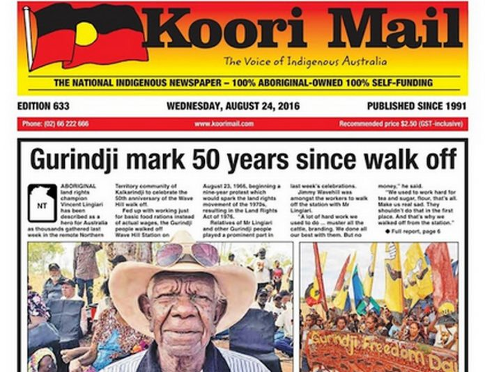 Journal aborigène le Koori Mail