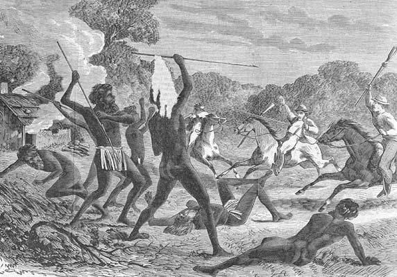 massacre aborigène