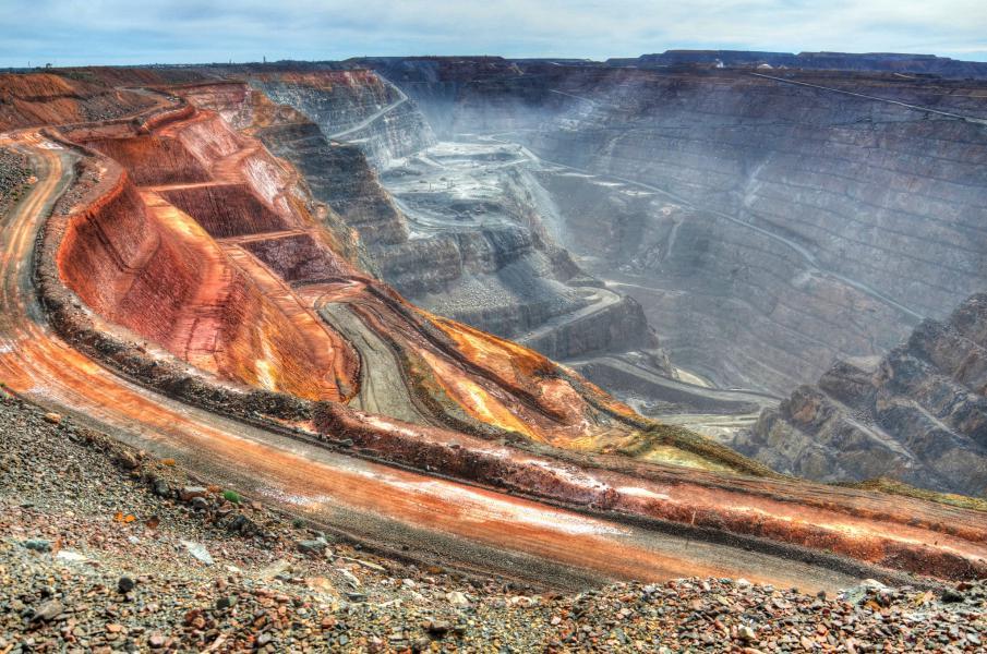 travail dans les mines