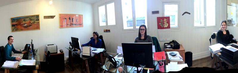 Team agence de voyage E-Australie