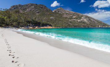 côte est de la Tasmanie