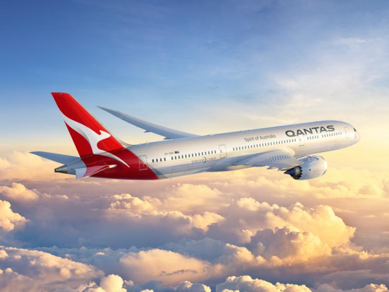 Carte Vol Qantas Australie.Une Liaison Directe Europe Australie 2018