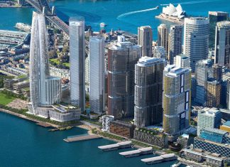 Barangaroo projet Sydney