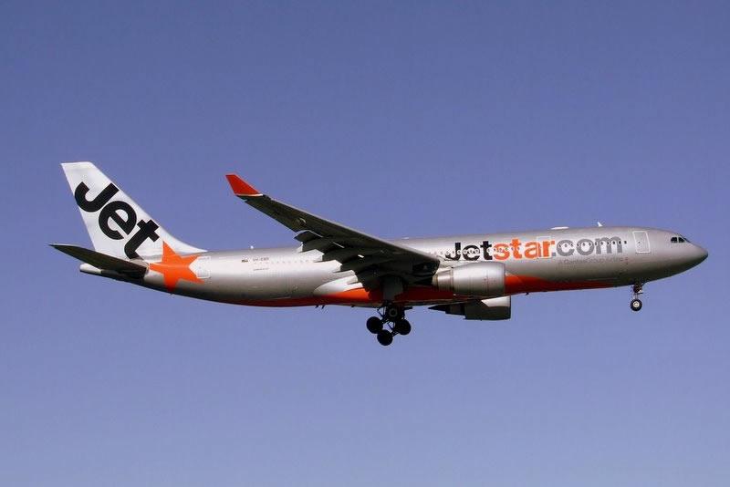 Transports en Australie : Jetstar